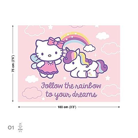 Hello Kitty Leinwand Bilder (PPD650O1FW)