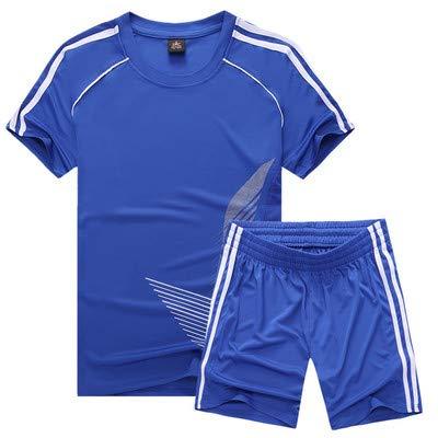 Boflision completi sportivi per bambini vestiti completi sportivi per bambini ragazzi uniformi ragazzi abbigliamento estate abiti per bambini,bianco,bambino m