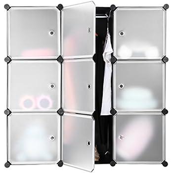 langria grande armoire en plastique opaque conception 9. Black Bedroom Furniture Sets. Home Design Ideas