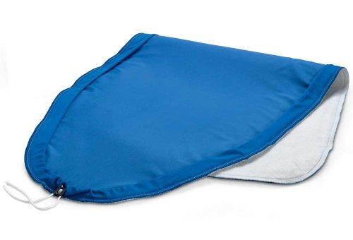 Delonghi SER3003 Bügelbrettbezug 130x48cm, blau