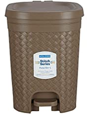 Stitch Pedal Waste Bin Modern Design Trash Can Plastic Dustbin - 15L