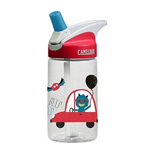 Camelbak Eddy 0,4l Monsters Borraccia con beccuccio salvagoccia per bambini - Camelbak Bambini Zaino