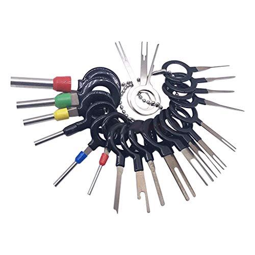 Tensay 21 Stücke Draht Terminal Removal Tool Auto Elektrische Verdrahtung Crimpverbinder Pin Kits Zurückziehen Nadel -