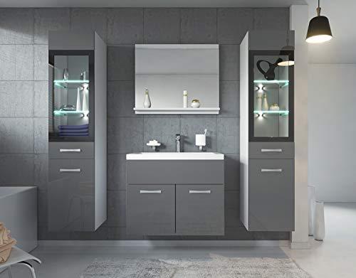 Badezimmer Badmöbel Set Rio XL LED 60 kaufen  Bild 1*