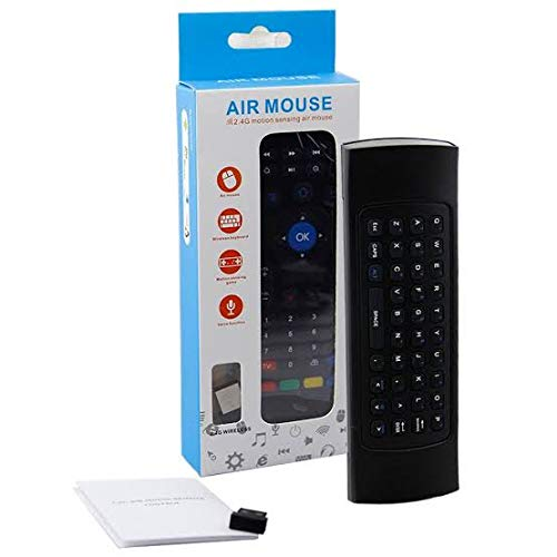 Buy AMUD MX3 Air Mouse Smart Remote Control MX3 2.4G Wireless Keyboard IR Learning for Android TV Box T9 H96Max X96 Mini online in India at discounted price