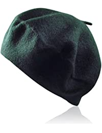 Amazon.it  basco donna - Verde   Cappelli e cappellini   Accessori ... b81439d5a5a1