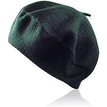 Amazon.it  Cappello Basco verde donna dbda7c581ee9