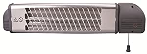 Réglette infrarouge inclinable IP24 1800 watts