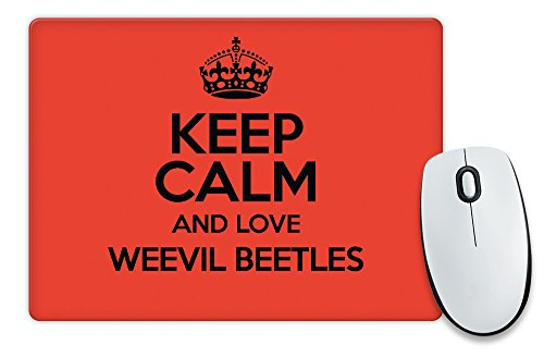red-keep-calm-and-love-weevil-coleotteri-colore-2086-tappetino-per-mouse