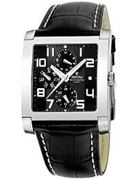 Festina Herren-Armbanduhr Analog Quarz Leder F16235-F