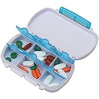 Shintop Tablettendose mit 6 fächer, Klein Pillendose Leicht zu Tragen Wasserdicht für Sport, Reisen und Draußen... preisvergleich bei billige-tabletten.eu