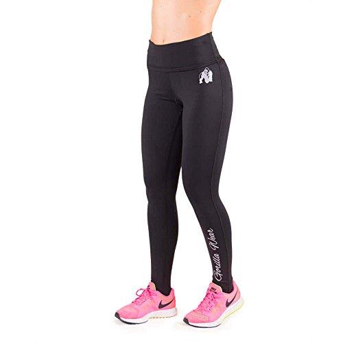 Gorilla Wear Womens Annapolis Work Out Legging - schwarz - Bodybuilding und Fitness Leggings für Damen, L