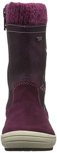 indigo by Clarks Stiefelette, Bottes haute Rouge - Rot (810 Purple VL)