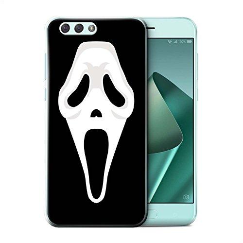 Stuff4® Hülle/Case für Asus Zenfone 4 ZE554KL / Scream Maske Inspiriert Kunst Muster/Grusel Filmkunst Kollektion