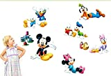 Kibi Stickers Muraux Mickey Stickers Muraux Minnie et Mickey Stickers Muraux Enfants...