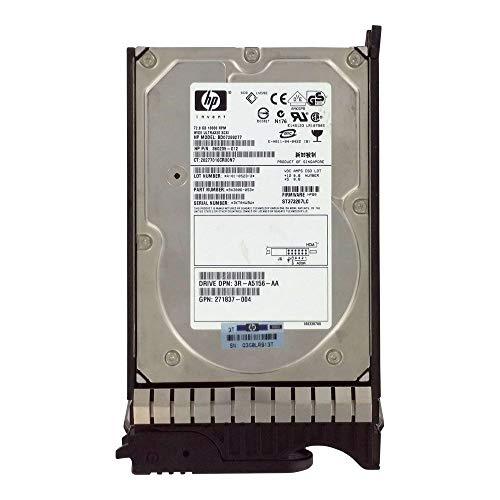 Disque Dur HP Festplatte 72 GB 10000 RPM 3,5 Zoll Ultra-320 SCSI 80PIN 360205-012 9X3006-053 271837-004 ST373207LC BD07288277 -