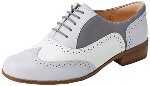 Oak Brogues, Grau (Grey Combi Lea), 36 EU ()