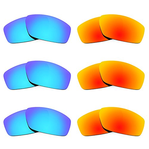 Revant Ersatzlinsen für Spy Optic Dirty Mo Polarisiert 6 Paar Kombipack K029