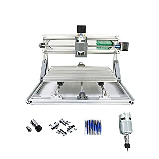 PW Mini Diy CNC3018 GRBL control, With ER11 Chuck 3 Axis pcb pvb Milling machine, Wood Router Engraver CNC 3018