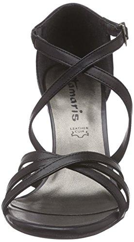 Tamaris 28339, Sandales ouvertes femme Noir - Schwarz (BLACK UNI 007)
