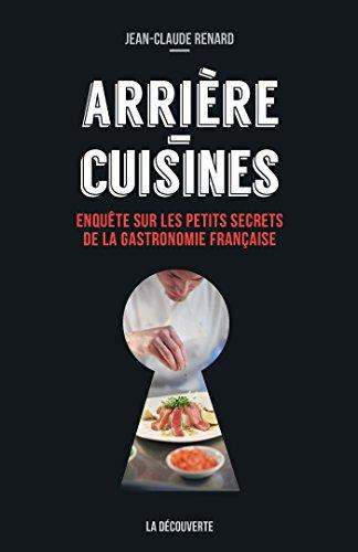 Arrière-cuisines (CAHIERS LIBRES) par Jean-Claude RENARD