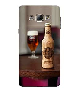 Sketchfab Bear With the Glass Latest Design High Quality Printed Soft Silicone Back Case Cover For Samsung Galaxy A8