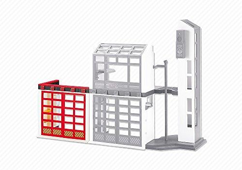 Preisvergleich Produktbild Playmobil 6385 Tor-Erweiterung für die Feuerwehrstation (Folienverpackung)