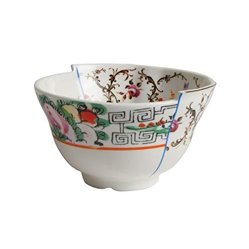 SELETTI 'Bol à Fruits en Porcelaine Hybrid-Irene Ø cm.10,5 H. 6,2