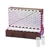 Wheaton W224609flaconcino di vetro borosilicato per analisi ambientale, capacità 20ml, PTFE Liner, trasparente (confezione da 72)