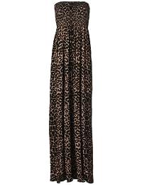 Mix lot neue Damen trägerlosen ärmellos lange Maxi-Kleid der Frauen gedruckt Sommer sexy Strandkleid Freizeitkleidung Größe 36 bis 42