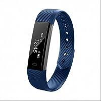 Pulsera de Actividad,Monitor de Frecuencia Cardíaca,Pulsómetro Pulsera Actividad con Rastreador de Salud,Control de Sueño,Alertas de mensajes,Monitor de Calorías,Sensor de frecuencia cardíaca para Android y teléfono móvil iOS