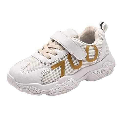 HDUFGJ Unisex Kinderschuhe Sportschuhe Mesh Atmungsaktiv Bequem Weicher Boden Freizeitschuhe Leichtgewicht Jungen Turnschuhe Mädchen Laufschuhe Outdoor Schuhe Fitnessschuhe