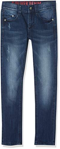 s.Oliver Jungen Jeans 61.809.71.3240 Blau (Blue Denim Stretch 56z4), 158 (Herstellergröße: 158/BIG)