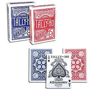 12-decks-of-cards-tally-ho-fan-back-blue-tally-ho-kartenspiel-zaubertricks-und-magie
