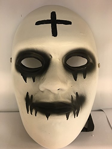 Deluxe Fibreglass - Purge Anarchy + Mask Stitch Mouth - Universal Size W/ Buckle Strap