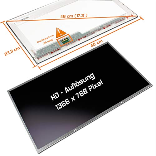 "Laptiptop 17,3"" LED Display Screen matt Ersatz für Acer Aspire Es1-731-P892 HD+ Bildschirm Panel"