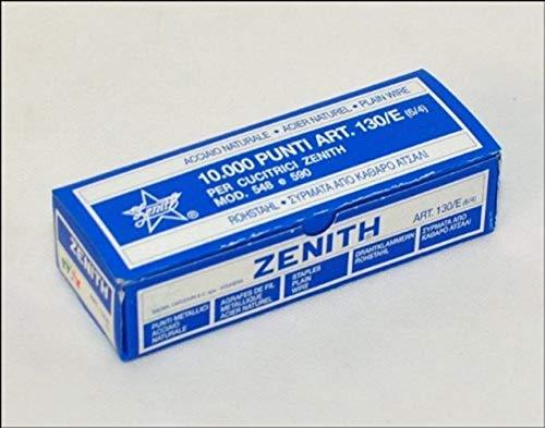 Zenith 311301401 Punti Agrafes de Bureau 130/E (6/4), 1 Boîte 10...