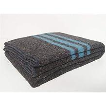 Sanz Marti - Mantas Mudanzas 140x200 gruesas Fabricadas en España - pack 2  mantas - azul d2b7f8159d49