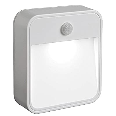 Sztrokia Multipurpose LED Wireless Battery Operated PIR Motion Sensor Wall Security Night Light Lamp - low-cost UK light shop.