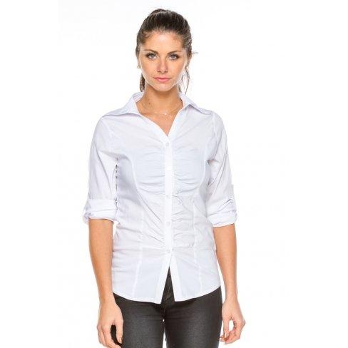 Princesse boutique - Chemise cintrée BLANCHE Blanc