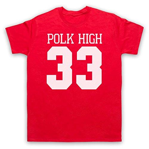Inspiriert durch Married With Children Polk High Unofficial Herren T-Shirt Rot