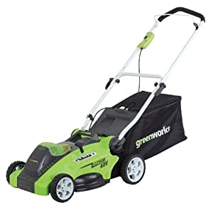 """Greenworks Tools 40cm (16"""") 40V Cordless Lawnmower (Tool Only)"""
