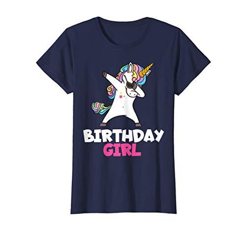 Birthday Girl Shirt fürs Geburtstagskind Einhorn Lustig
