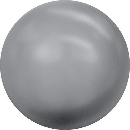 Swarovski Kristalle 1169548 Glaswachsperlen 5810 MM 4,0 Crystal Grey Pearl, 500 Stück