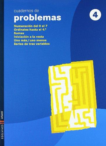 Cuaderno 4 de Problemas (Infantil)