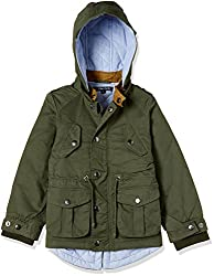 Allen Solly Junior Boys Cotton Jacket (AKBJK517481 10 Green)