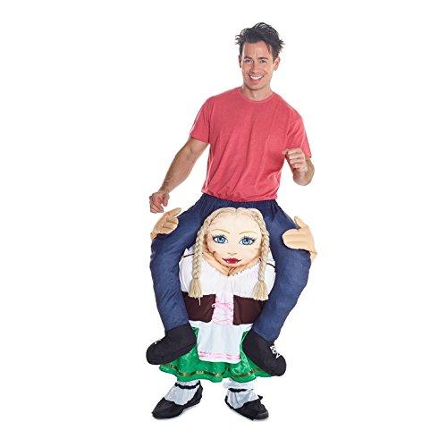 Unbekannt Morph Neu Huckepack Tragen Witzig Kostüm Unisex - LeprechaunMit selbst füllen Beine (Das Kobold Kostüm Tragen)