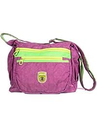 3839b0d347 Handcuffs Stylish Side Sling Bag Shoulder Bag Messenger Bag For Women-  Purple