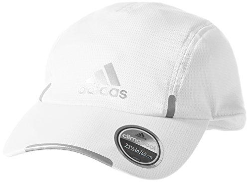 adidas Run Clmco Gorra, Hombre, Blanco (Blanco / Refsil / Refsil), OSFM