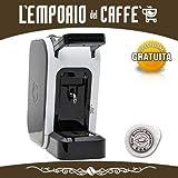 Offerta SPINEL CIAO Bianca Macchina da Caffè a cialde ESE 44mm filtro carta + kit assaggio Emporio del Caffè